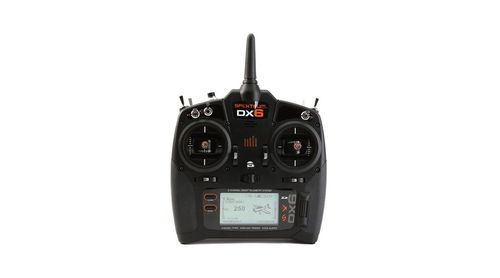 DX6 6-Channel DSMX Transmitter Gen 3 with AR6600T Receiver, Mode 2 (SPM6755EU)