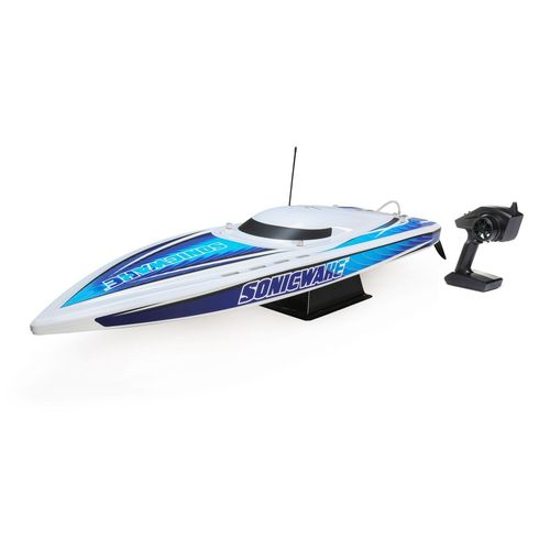 "36"" Sonicwake,Wht,Self-Right Deep-V Brushless RTR (PRB08032T1)"