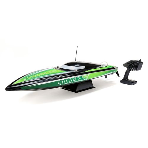 "36"" Sonicwake,Blk, Self-Right Deep-V Brushless RTR (PRB08032T2)"
