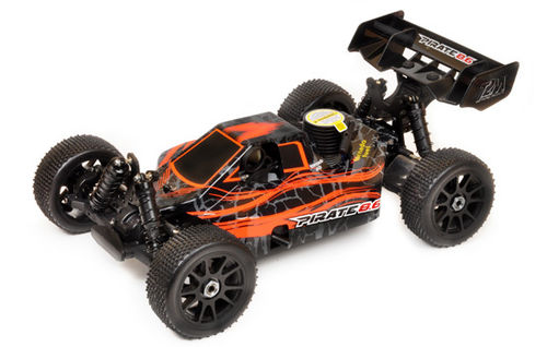 PIRATE 8.6 Orange 4WD 1/8 RC OFF ROAD Verbrennerbuggy