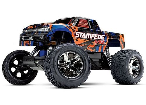 TRAXXAS STAMPEDE VXL ORANGE BL OHNE AKKU/LADER 1/10 2WD MONSTER TRUCK BRUSHLESS