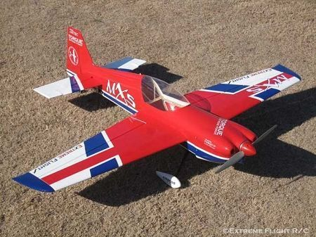 "MXS 64"" ARF, RED/WHITE/BLUE"
