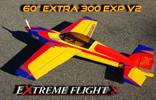 "EXTRA 300 60"" V2 YELLOW/RED/BLUE"