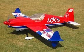 "MXS 78"" ARF KIT EP BLUE/RED"