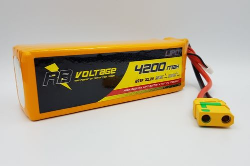 RB Voltage 4200mAh 6S 50C XH/--