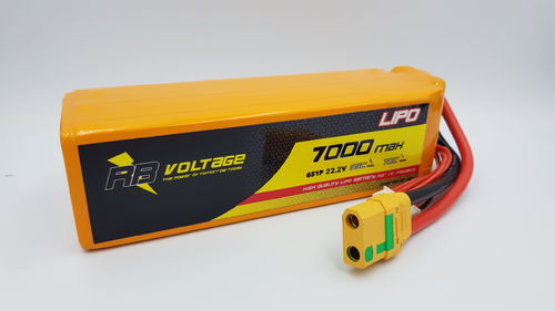 RB Voltage 7000mAh 6S 35C XH/XT90